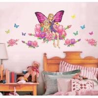 Quality eco-friend avaiable easy remove butterfly wall stickers for bedroom for sale