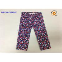 Quality Multi Colors Dots Cute Baby Girl Leggings Lycra Jersey Pants SGS Certified for sale