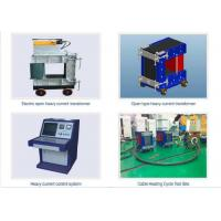 Buy cheap High Accuracy High Voltage Cable Testing Equipment Cable Heat Cycle Test Systems from wholesalers