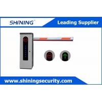 High Integrated Parking Lot Barrier Gate / Parking Boom GatesWith Loop Detector