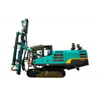 China Diesel Powered Self Propelled Hammer Drill Rig For Construction on sale