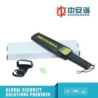 Quality Portable Hand Held Metal Detector , Black - Ideal Security Device Super Scanner for sale