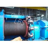 Quality hyraulic and electric Winch Drum for Hoist Equipment Spiral or lebus Grooving type for sale