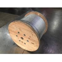 Buy cheap Galvanized Steel Wire Strand For Guy Wire / Stay Wire / Overhead Transmission from wholesalers