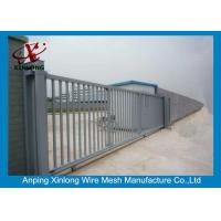 Quality 2m Height Automatic Sliding Gates For Driveways High Performance RAL 256 Colors for sale