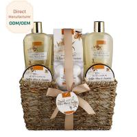 China 250ml 300ml Beauty Bath Gift Sets Moisturizing Feature Customized Logo for sale
