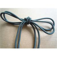China Colored Cotton Cord for garment Braided Fabric Waxed Cotton Cord for Shoelace on sale