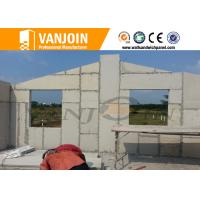 Quality Light partition Sandwich Wall Panels , compound eps insulated panels decorative for sale