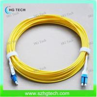 Quality Unitboot LC/LC Singlemode Fiber Optic Patch Jumper for sale