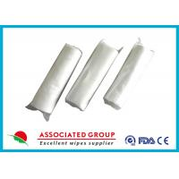 Quality No Chemical Dry Non Woven Roll Plain Spunlace Breakpoint Dry Wipes No Irritation for sale