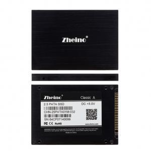 MLC Nand Flash IDE 2.5 SSD Zheino 44pin 32GB Pata Read 61MB / S IOPS