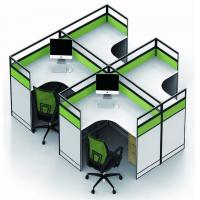 Quality Simple Melamine Office Furniture Partitions Environment - Friendly PE Painting for sale