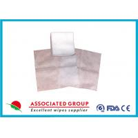Quality Antibacterial Disposable Nonwoven Gauze Swabs 10 X 10 Household Size Design for sale