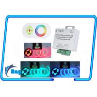 Quality IOS WiFi LED Controller for RGB LED Strips , 2 channel RF PWM led controller for sale