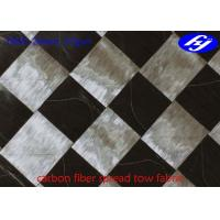 Quality Ultra Thin Carbon Fiber Fabric 12K T800 Wide 37GSM Carbon Fiber Spread Tow Fabric for sale