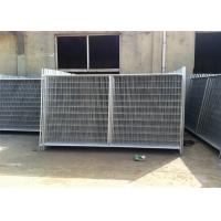 Quality Environmental Temporary Site Fence Panels / Chain Link Fence Construction for sale