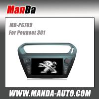 Quality Manda touch screen car head unit for Peugoet 301 car gps navigation system satellite radio for sale