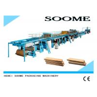Quality Different Ply Corrugated Cardboard Production Line Customized Rotary Cutting Type for sale