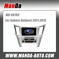 Quality Factory car audio for Subaru Outback 2011-2013 Car dvd gps dedicated navigation car multimedia system indash head units for sale