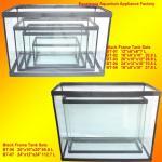 Quality Black Frame Aquarium Fish Tank/Narrow Fish Tank for sale