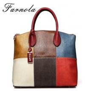 China Guangzhou wholesale colorful lady fashion designer handbags 2014 on sale