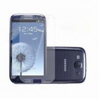 Quality PET Films, High Quality, Anti-scratch Clear Screen Protector for Samsung S3 for sale