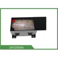 Quality Multi Function Floor Sweeper Battery 24V 200AH Low Self - Discharge for sale