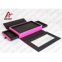 Quality customized size Foldable Paper Boxes for wrapping presents 3 Drawers for sale