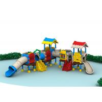 China Plastic Outdoor Playground Equipment Outside Play Sets Complete Safety Protection on sale