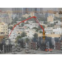 Quality 4 Sections Boom Stationary Concrete Placing Boom Φ133×4 Delivery Pipe Dimension for sale