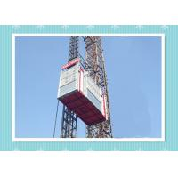 Personnel And Material Construction Elevator Hoist In Single And Twin Cage