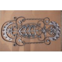 China Metal Steel  H1000*W480 MM Wrought Iron Balustrades, Steel Railings Balusters on sale