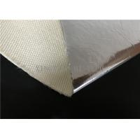 Quality Thermal Insulation Fire Resistant High Silica Fabric Aluminum Foil Coated for sale