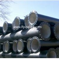 China ISO2531/EN545/EN598 Ductile iron pipe K9-Class, K10-Class, Class40 on sale