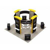 Buy 6X6 M Trade Show Exhibits Displays Eco Friendly Grafics Wrinkle Free Easy Assemble at wholesale prices