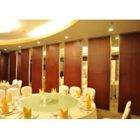 Quality Acoustic Movable Partition Walls , VIP Wooden Partition Door for sale