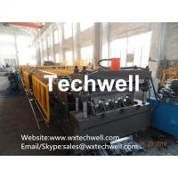 Quality Easy Operation Customized Steel Metal Sheet Decking Floor Roll Forming Machine With PLC Control System for sale