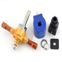 Buy cheap High Accuracy Cold Storage Parts , Hydraulic Solenoid Valve Brass Material from wholesalers