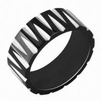 Quality Stainless Steel Rings, Customized Designs and Logos Accepted for sale
