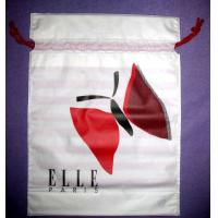Buy cheap White Drawstring Plastic Bags from Wholesalers