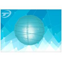 Quality Traditional Hanging Paper Lanterns Of Wedding Decoration With Rice Paper And Metal Wire for sale