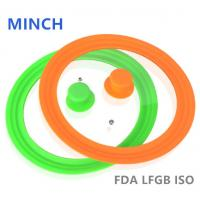 Buy cheap Best Silicone Glass Lid/Glass Lid with Silicone Rim FDA/LFGB 14-32cm-MINCH SILICONE from Wholesalers
