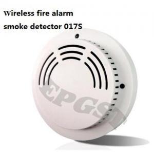 China Wireless fire alarm smoke detector 017S on sale