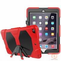 Quality Full protective housing stand hybrid rubber kidsproof case for iPad 9.7