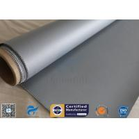 Buy cheap Electrical Insulation 40/40g 1.2m Width 260℃ Silicone Coated Fiberglass Fabric from wholesalers