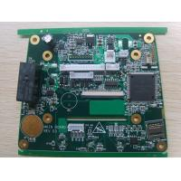 Quality 4 Layer 1OZ Printed Circuit Board Production ENIG with batteries and SMD SD card connectors for sale
