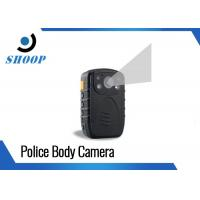 Quality Portable WIFI Body Camera , 140 Degree Angle Police Personal Body Video Camera for sale