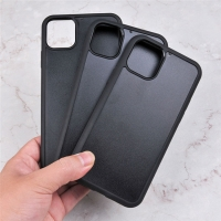 China Newest 1MM Groove Inlay TPU+PC Custom Real Wood Blank Mobile Phone Case For iPhone 11 on sale