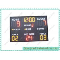 Buy cheap Indoor Electronic Basketball Scoreboard from Wholesalers