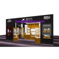 Quality jewellery fair booth display showcases and window cabinets for sale